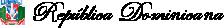 Escudo y nombre República Dominicana